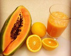 El jugo de papaya te ayudará a tener un vientre plano.