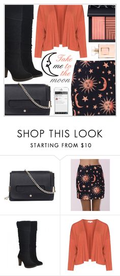 """Dresslily"" by becky12 ❤ liked on Polyvore featuring Isolde Roth, NARS Cosmetics, Fall, Boots and falltrend"