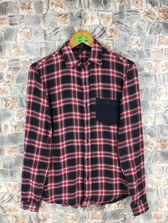 Excited to share the latest addition to my #etsy shop: Vintage Checkered Tartan Flannel Button Up Shirt Small #womenflannelshirt #90shipsterflannel #vintageflannel80s #90sgrungeflannel #rusticflannel #blouseflannel #ladiesflannelsmall #indiebohoflannel #grungeflannelshirt
