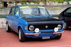 Fiat 128 Rally Fiat 128, Retro Cars, Vintage Cars, Fiat Cars, Fiat Abarth, Steyr, Italian Beauty, Maserati, Custom Cars