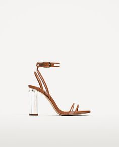 57ac35d1db1 SANDALIA TACÓN VINILO. Gorgeous HeelsWomen s Shoes SandalsHeeled ...