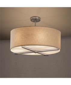Justice Design Group FAB-9522 Textile 24 Inch Chandelier