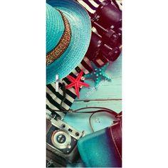 Deursticker Vakantie bagage | Een deursticker is precies wat zo'n saaie deur nodig heeft! YouPri biedt deurstickers zowel mat als glanzend aan en ze zijn allemaal weerbestendig! Verkrijgbaar in verschillende afmetingen.   #deurstickers #deursticker #sticker #stickers #interieur #interieurprint #interieurdesign #foto #afbeelding #design #diy #weerbestendig #vakantie #bagage #camera #zeester #blauw
