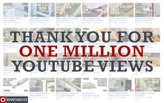 Thanks for helping u reach 1 Million Youtube Views! We're glad we can help with your DIY Home Repair fixes!