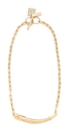 @KellyWearstler Sideways Horn Necklace ::: would love to layer this