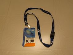 Georgia Aquarium lanyard behind the scenes tour neck clip leash holder