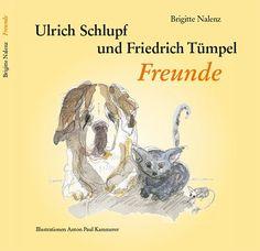 Ungewöhnliche Freundschaften - schön, dass es sie gibt! Davon erzählt das Künstler-Bilderbuch von Brigitte Nalenz, illustriert von Anton Paul Kammerer.