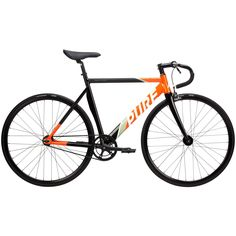 Pure Cycles | Keirin Pro Detraux Complete Alloy Fixed Gear Track Bike