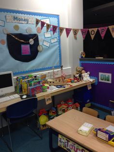 Toy shop classroom Toys Shop, Toy Story, Owls, School Stuff, Classroom, Learning, Shopping, Class Room, Studying