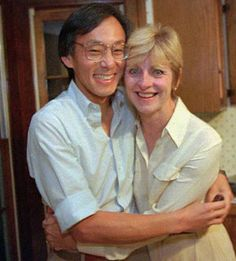 Nobel laureate and Energy Secretary Steven Chu and his wife