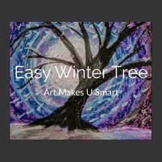 Easy Winter Art Project Confidence builder and a fun way to learn oil pastel t. Chalk Pastel Art, Oil Pastel Art, Chalk Pastels, Oil Pastels, Art Lessons For Kids, Art Lessons Elementary, Art For Kids, Winter Art Projects, Easy Art Projects