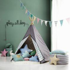 Anleitung für ein Selbstgenähtes Tipi Zelt