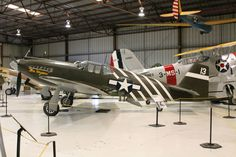 P-51A Mustang, USAAF, WW2. Planes of Fame, Chino. Photo by Patrick Mack.