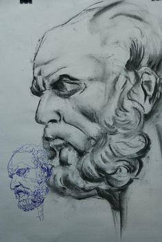 academiataure.com #art #artschool #drawing #painting #portrait #retrato