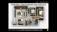 1 to 4 BHK Apartments in Hadapsar Pune by Amanora Neo Towers