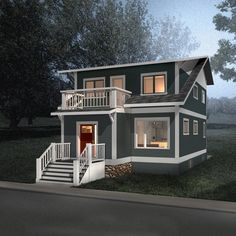 1200sq Ft House Plans, Two Storey House Plans, Cottage House Plans, Best House Plans, Small House Plans, Floor Plans, 2000 Sq Ft House, House With Balcony, Open Concept Home