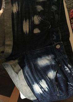 Schöne jeansshorts!