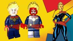76049 Avengers Space Mission : Captain Marvel (Carol Danvers)
