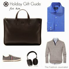 10 gifts for him Holiday Gift Guide, Holiday Gifts, Gifts For Him, Shopping, Fashion, Xmas, Moda, La Mode, Fasion