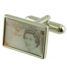 Ten Pound Cufflinks