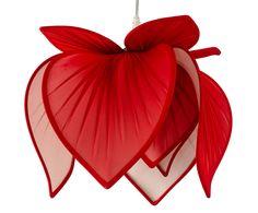 Pendente Flor de Lótus Vermelho - Bivolt | Westwing - Casa & Decoração