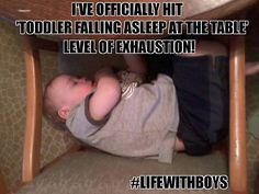 When your that tired! #lifewithboys #boymom