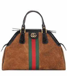 mytheresa.com. RE(BELLE) Medium suede top handle bag   Gucci. Ngie ·  accessories 4325e2a99d9