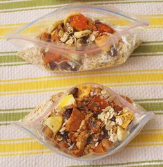 easy and healthy oatmeal breakfast packets!