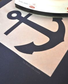 anchor stencil free | cut the freezer paper to 8 1 2 x 11 and print on the paper side not ...
