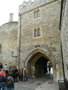 The Bloody Tower, Tower of London. The British pronounce tower as TAR. it kind of puts you at the scene to know this! lol!