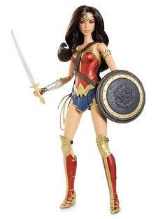 I need this Wonder Woman Barbie. @kbartlez grab her for me when you're at Comic-Con, please?