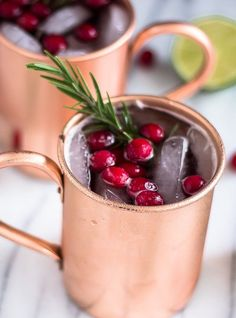 Get in the Seasonal Spirit With This Holiday Spin on the Moscow Mule