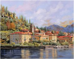 Purchase paintings from Guido Borelli. All Guido Borelli paintings are ready to ship within 3 - 4 business days and include a money-back guarantee. Venice Painting, City Painting, Figure Painting, Landscape Photos, Landscape Paintings, Art Paintings, Landscapes, Sea Art, Watercolor Sketch