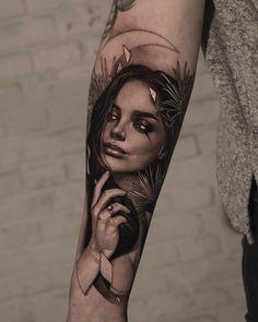 Саша Сорса Dream Tattoos, Mini Tattoos, Tattoos For Guys, Tattoos For Women, Unique Tattoos, Cool Tattoos, Sugar Tattoo, Traditional Tattoo Woman, Girl Face Tattoo