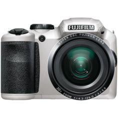 Fujifilm 16 2 Megapixel FinePix S6800 Digital Camera White   eBay