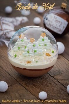 Boule de Noël gourmande - Celebrations: On my table at Christmas - [post_tags Lemon Desserts, Fall Desserts, Christmas Desserts, Christmas Treats, Christmas Post, Cake Recipes, Snack Recipes, Dessert Recipes, Healthy Recipes