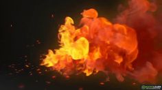 Fire Logo By Chinmay3d | After Effects Template