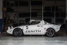 This Heavenly Garage Only Works On Lancia Rally Cars - Petrolicious Lamborghini, Ferrari, Maserati, New Sports Cars, Sport Cars, Race Cars, Alfa Romeo, Vintage Racing, Vintage Cars