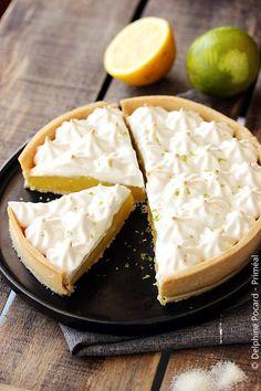 Tarte au citron vegan (100 % végétale) - Miss Pat'
