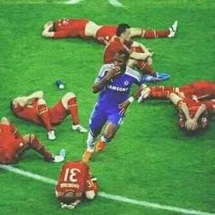 Only 1 Drogba... ♥