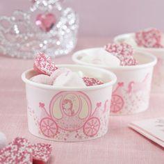 Princess Party bakjes (8st)