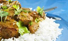 Poulet au curry panang, basilic et lime pour 4 personnes - Recettes Elle à Table - Elle à Table