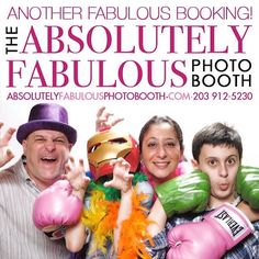 The #AbsolutelyFabulousPhotoBooth added two last minute events to this weekend's lineup: we'll be at a 7th birthday party in #Greenwich CT on Friday morning a fund raiser in #Greenwich on Friday night and a #40th birthday party in Rye NY on Saturday night.  Call (203) 912-5230 for #PhotoBooth availability for your #CorporateEvent #Birthday #Sweet16 #Wedding #BarMitzvah #BatMitzvah #Fundraiser and all occasions in #NY #NJ #CT. #eventplanner #weddingplanner #entrepreneur #business…