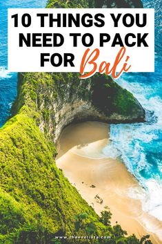 Trying to figure our what to pack for Bali? This post will give you a full Bali packing list things you are probably forgetting to pack. Bali Travel Guide, Packing List For Travel, Travel Checklist, Travel Essentials, Asia Travel, Travel Tips, Packing Lists, Golf Travel, Weekend Packing
