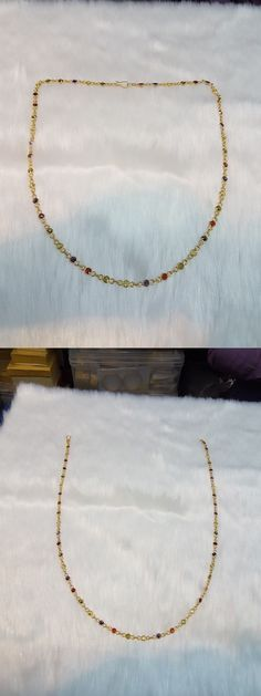 Other Wholesale Body Jewelry 51011: Handmade Wholesale Lot Of 5Mm Cz Multi Color Stone Chain Mala Necklace -> BUY IT NOW ONLY: $37.5 on eBay!