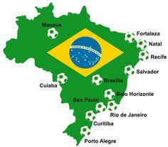 WK voetbal: de speelsteden (deel 2/3) - Meteovista Weer Nieuws