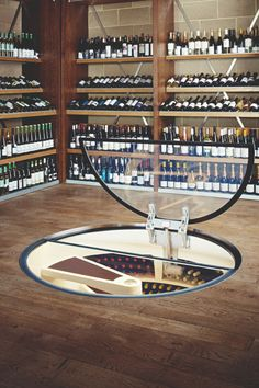 Now that is what we call a wine cellar!