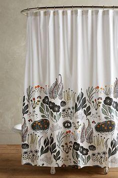 Fabric Shower Curtains Sun Moon And Sun Moon Stars On Pinterest