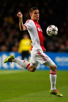 Niklas Moisander of Ajax in action during the UEFA Champions League Group H match between Ajax Amsterdam and FC Barcelona at Amsterdam Arena on November 26, 2013 in Amsterdam, Netherlands.  I love soccer too much!!!!!