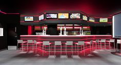 "Restaurant / Bar Interior Design - Silvan Francisco, ""As"", in Madrid. 2013. #decoración #aquitecturadeinterior #business #decoradorMadrid #decoracionMadrid #Madrid #BarriodeSalamanca #superestilo #interiordesign"